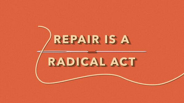repair is a radical act patagonia