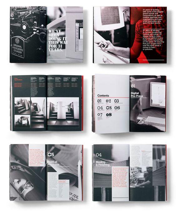 Bi fold brochure example