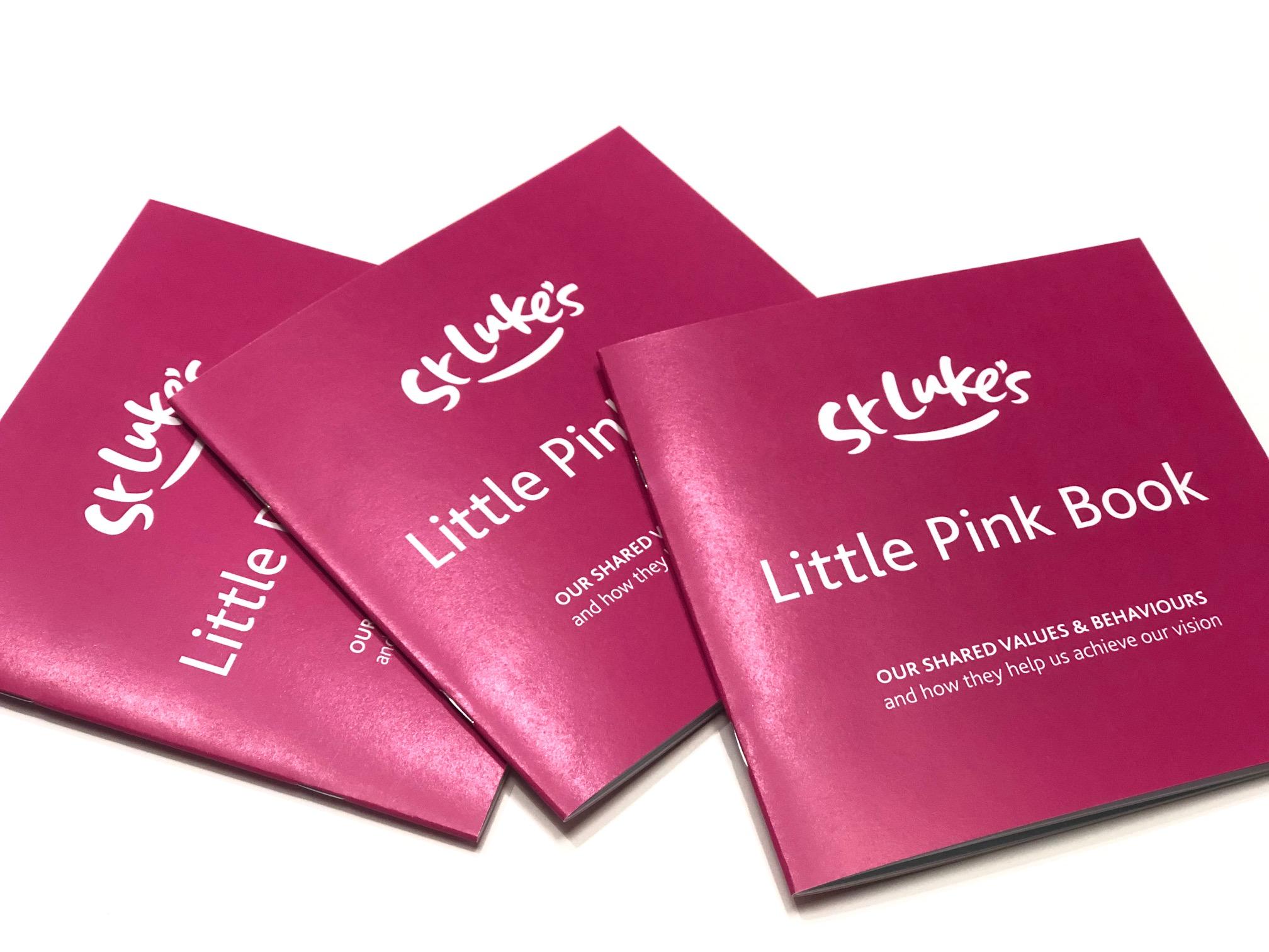 St Lukes Little Pink Book