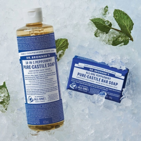 dr bronner activist soap bottle