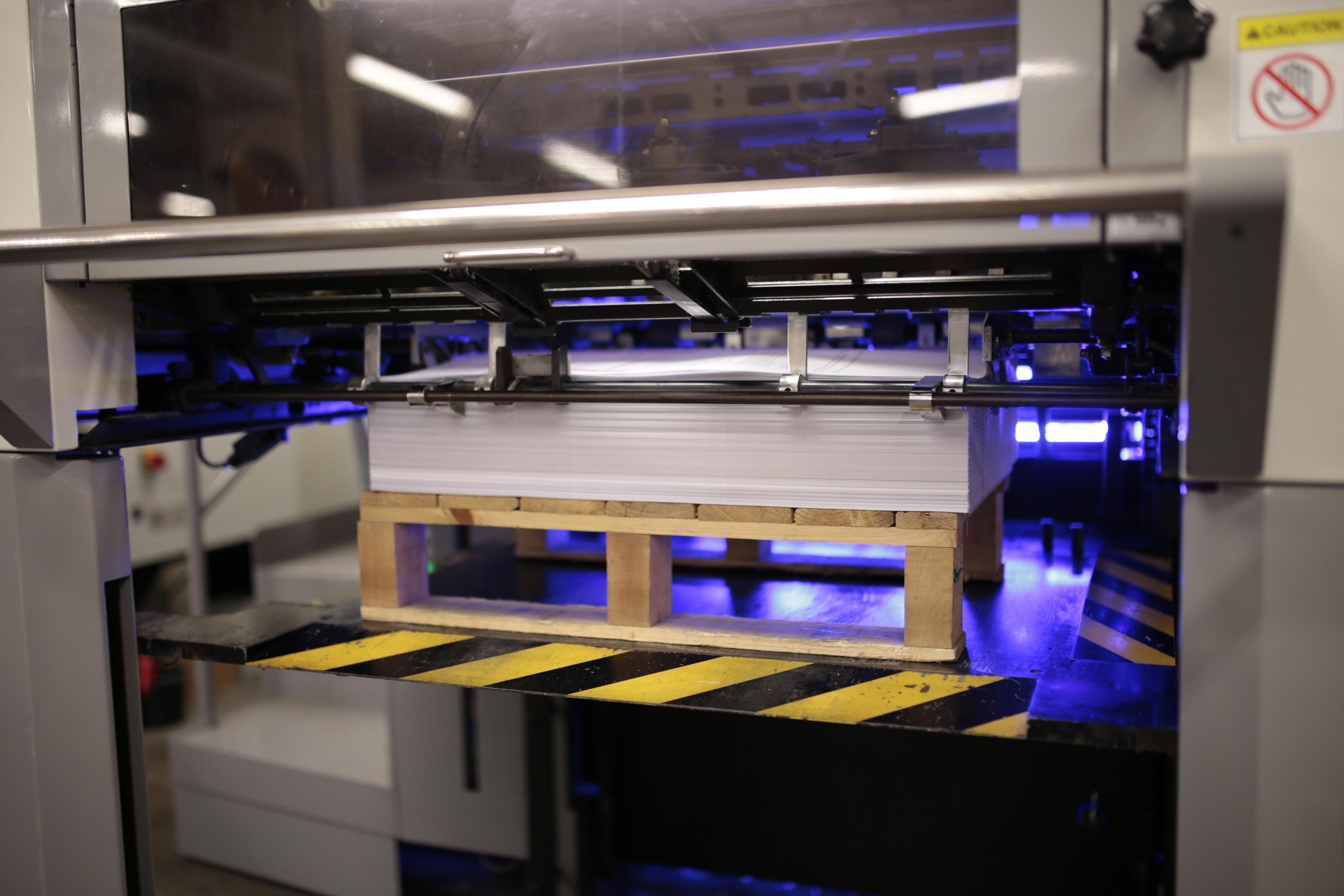 LED UV printing