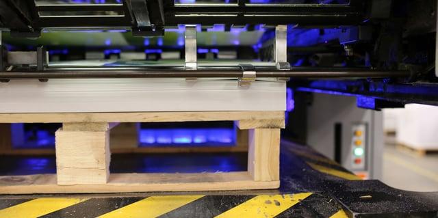 LED UV printing machine