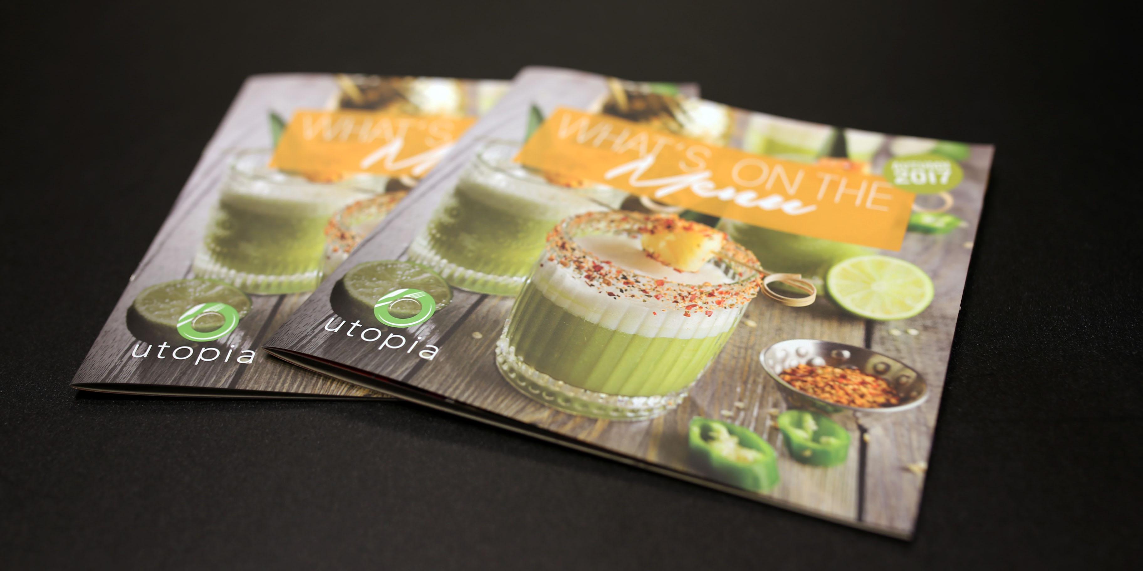Utopia Luxury Brochure Front Cover