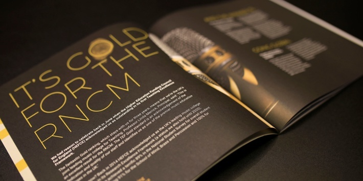 Royal Northern College of Music Magazine Inside Pages