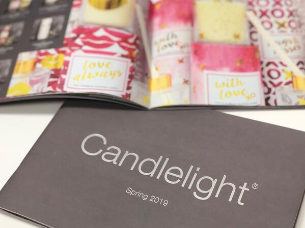 Front page of Candlelight brochure