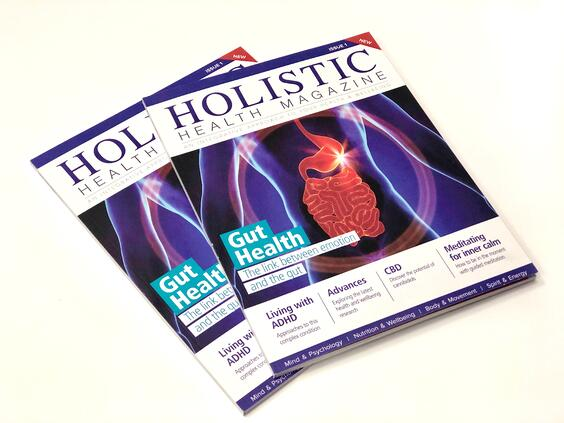 Holistic Health Magazine Front Cover