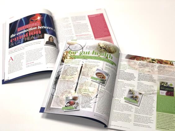 Holistic Health Magazine Open Pages