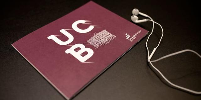 University Campus Barnsley Front of Brochure
