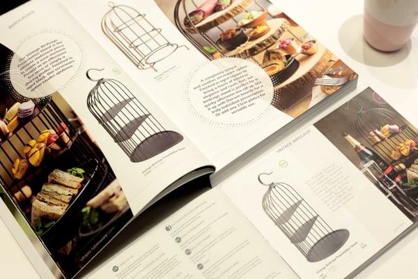 Utopia Eat & Drink Catalogue Page Spread