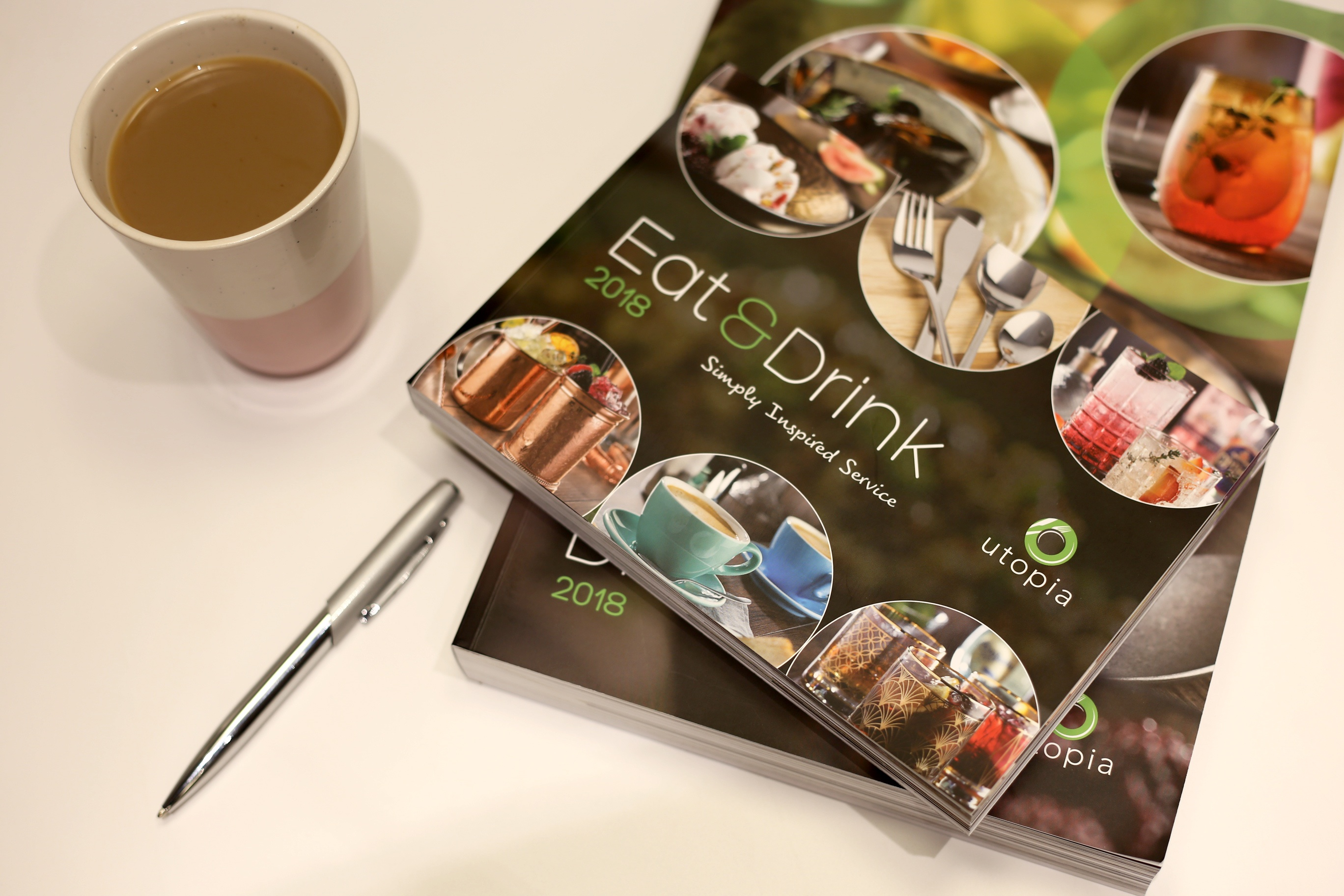 Utopia Eat & Drink Catalogue Cover