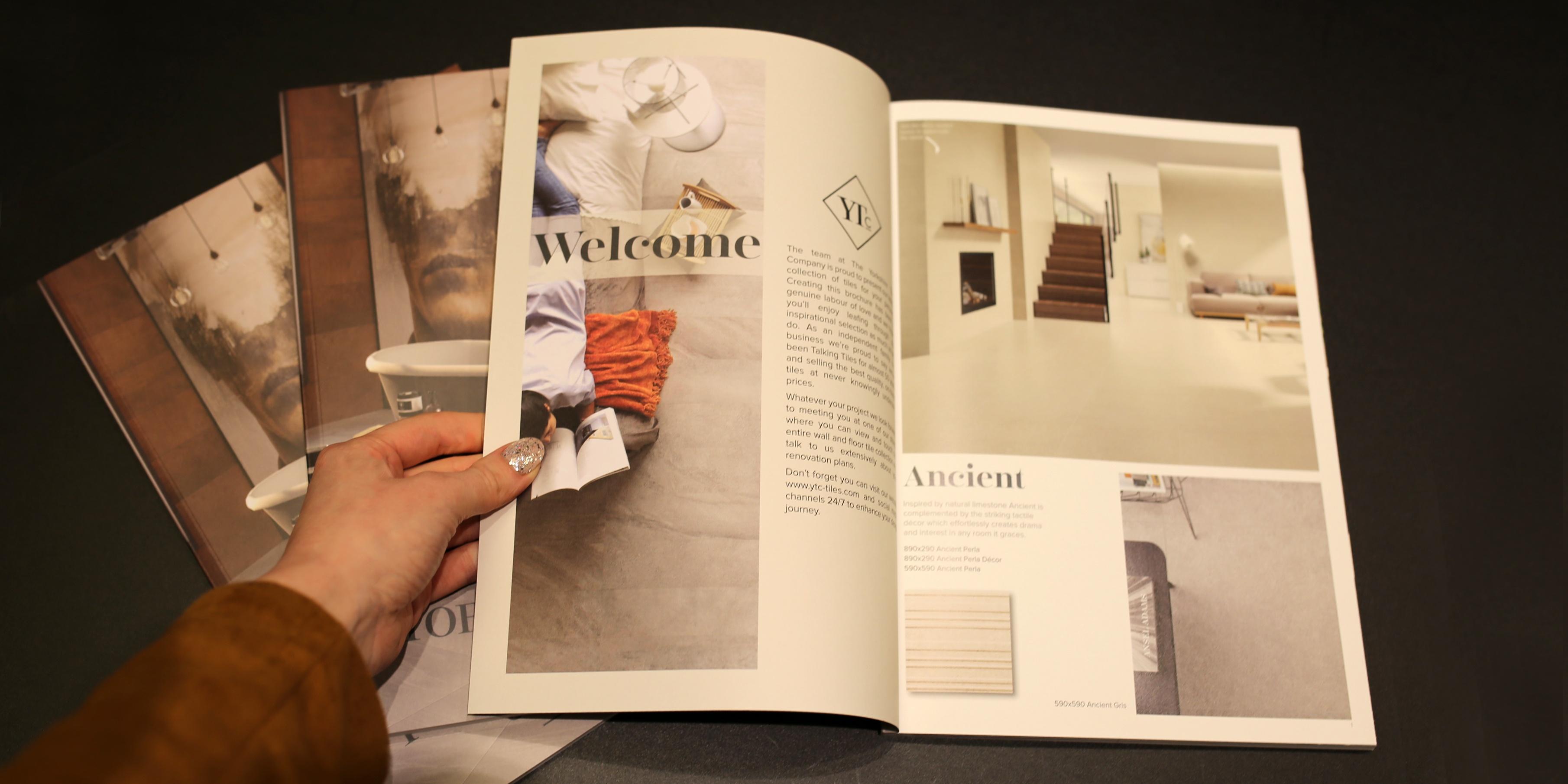 Yorkshire Tiles Brochure Inner Page