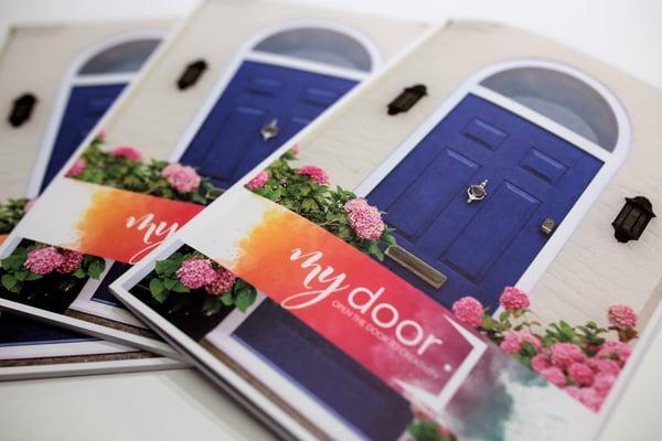 Front cover of My Door brochure