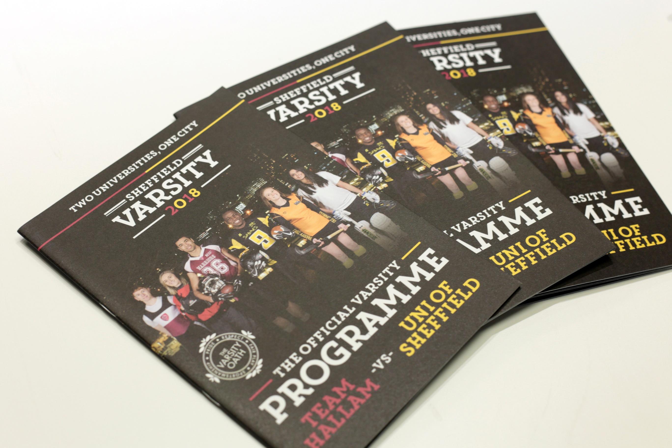 Sheffield Students Union varsity brochure