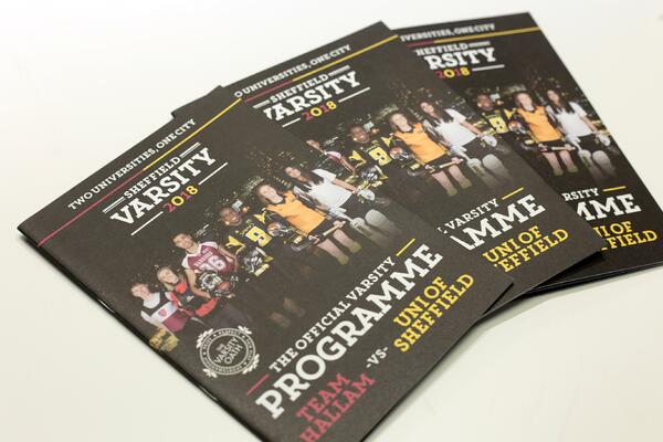 Sheffield Students Union varsity brochure