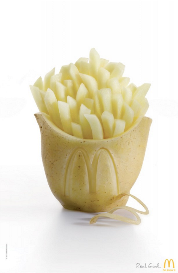 McDonald's Potato Ad