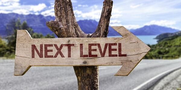 Next Level wooden sign with a street background-397611-edited