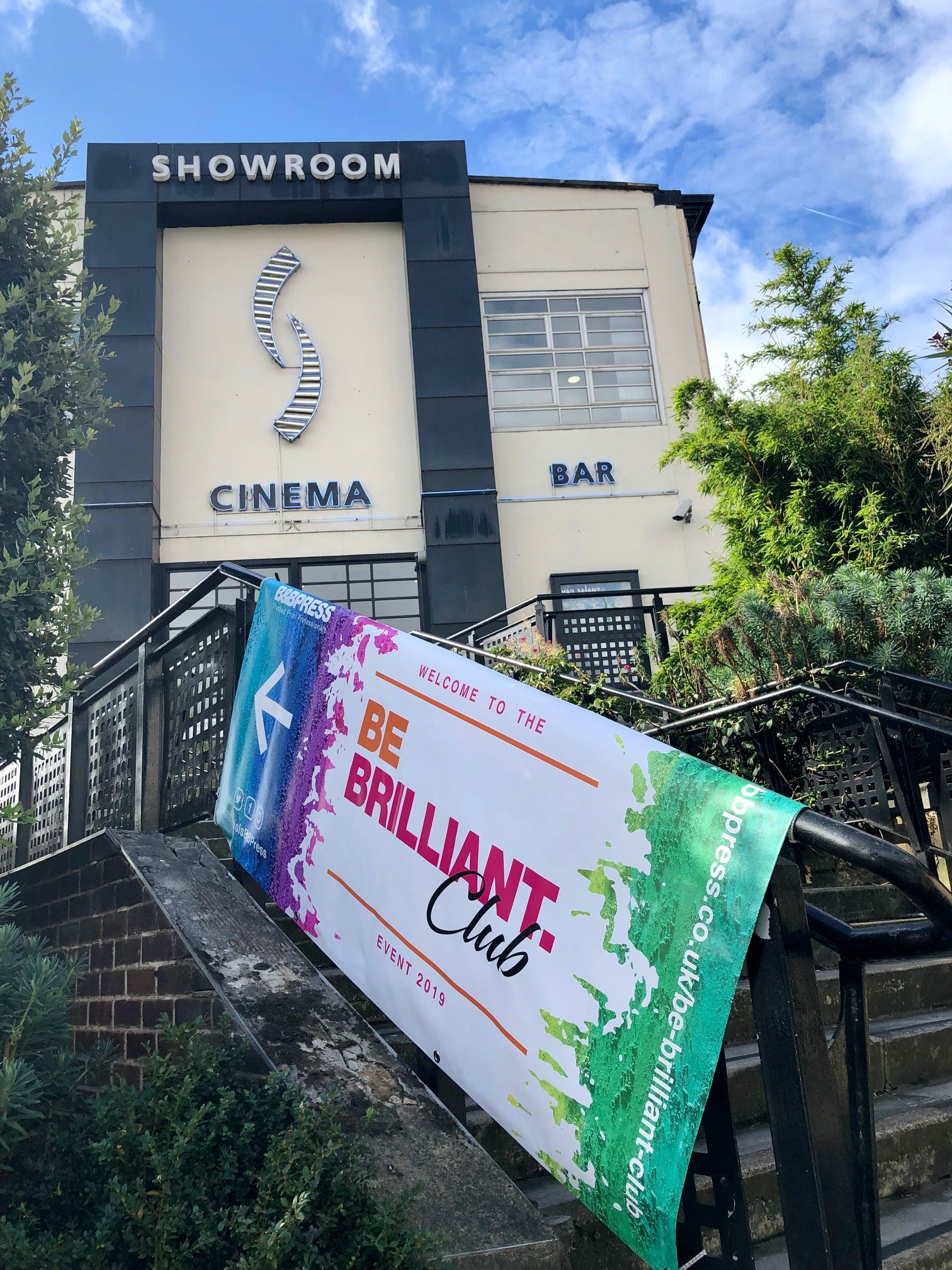 Showroom Cinema on event day
