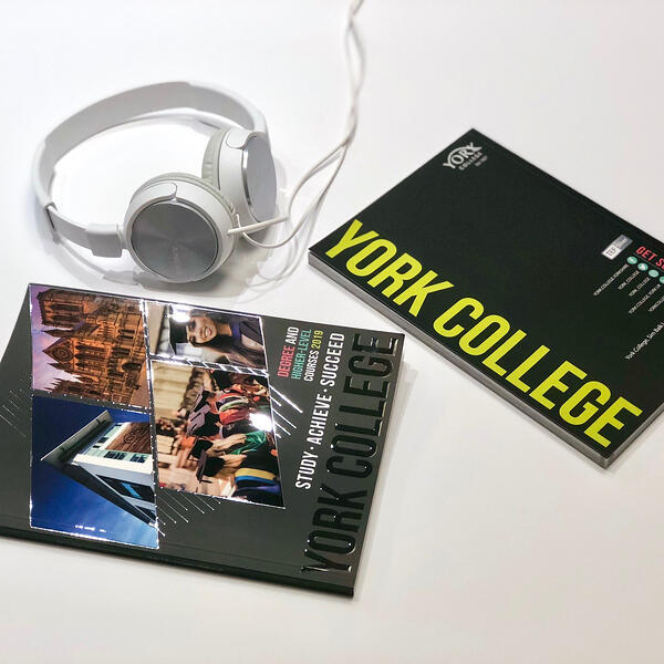 York College brochure