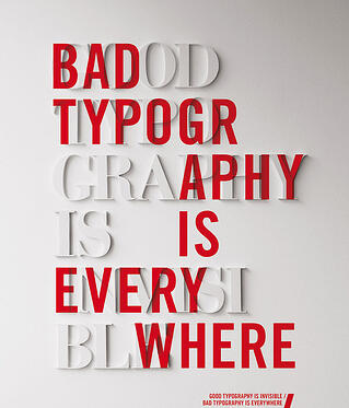 typography example