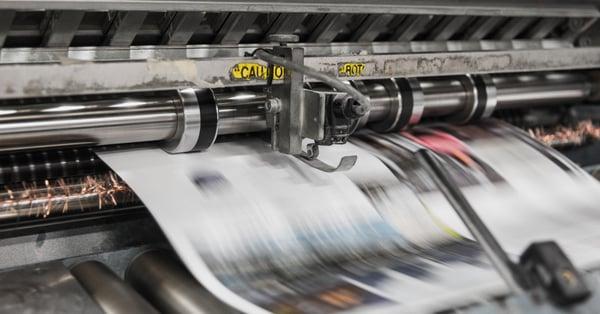 b&b press printing machine