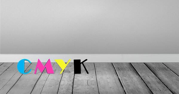 cmyk process colour for printed materials