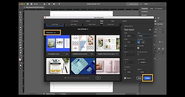 creating print-ready files from adobe indesign