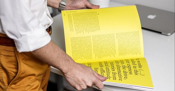 bright and vivid printed materials