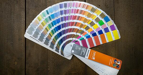 pantone spot colour process for print