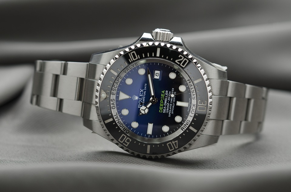 Rolex At An Angle