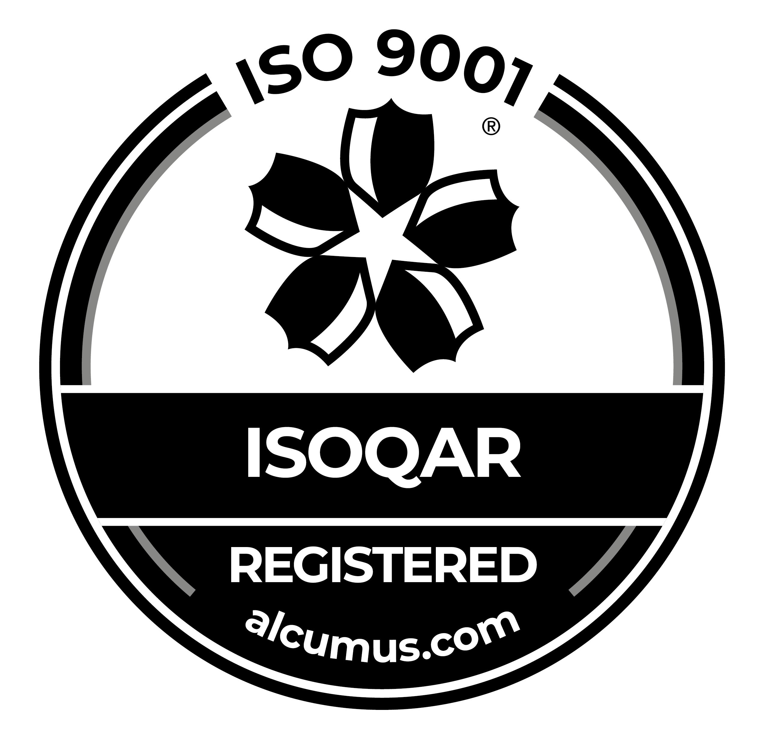 Seal Colour - Alcumus ISOQAR 9001 Mono